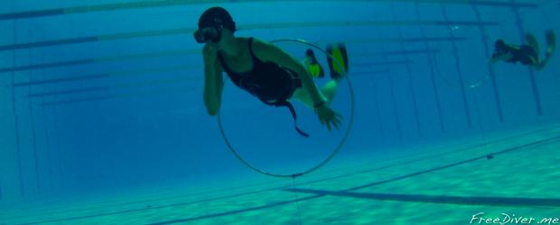 Базовый курс фридайвинга в бассейне. Санкт-Петербург