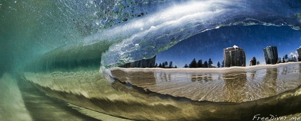 "Ray Collins ""Underwater - Kirra Point"""