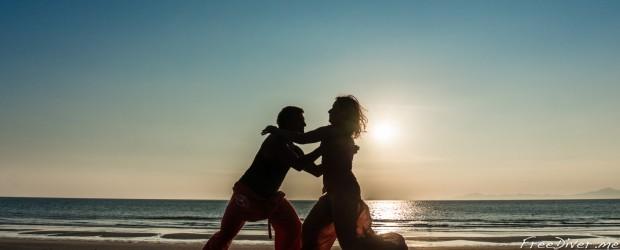 7-й Фестиваль КИ и танца в воде в Таиланде