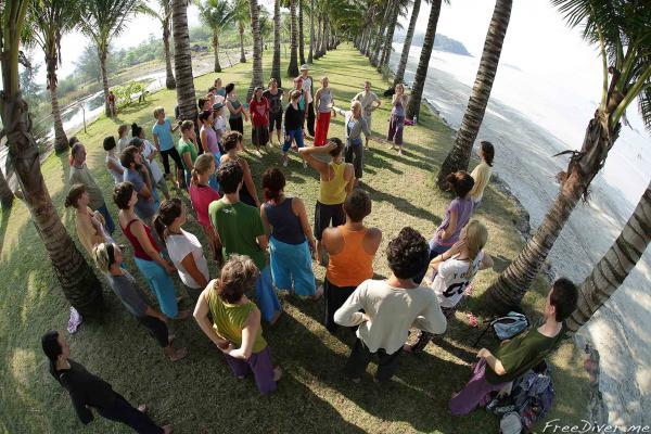 Фридайвинг на фестивале КИ в Таиланде
