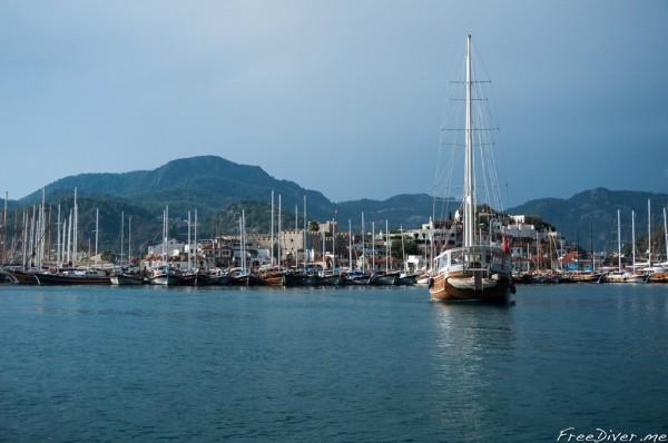 Яхтинг и фридайвинг в Турции