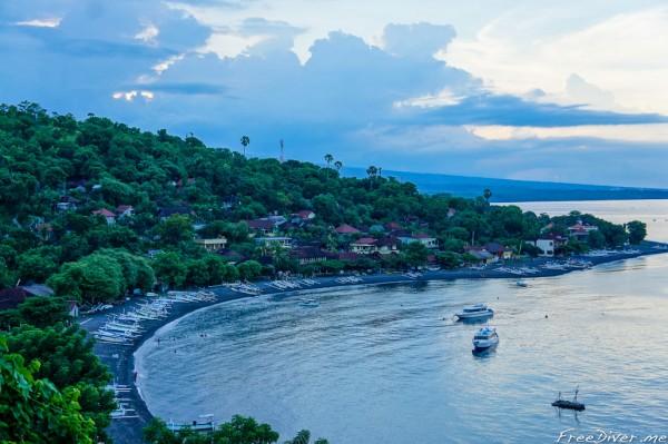 Бухта Jemeluk, Амед, Индонезия