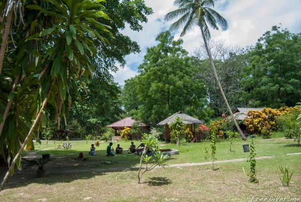 Bunaken. Lorenco's Beach Garden
