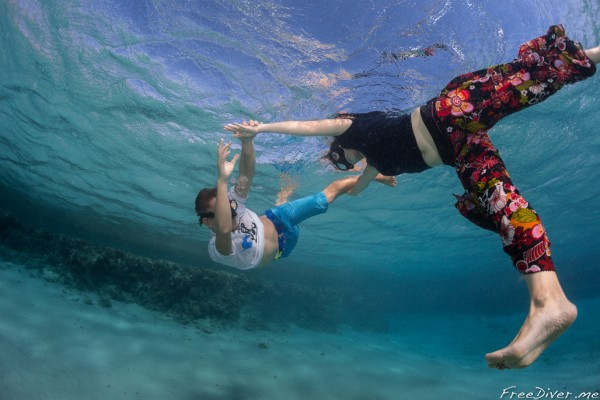 Дахаб 2014. Underwater dancing