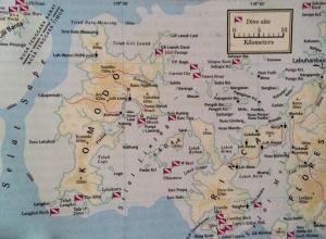 Дайв сайты национального парка Комодо