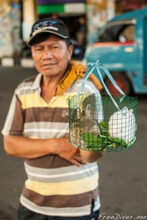 Город Манадо. Северный Сулавеси