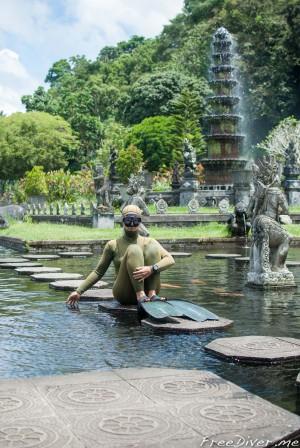 Тирта Ганга. Водный дворец