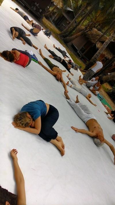 Фестиваль КИ и танца в воде в Таиланде 2015