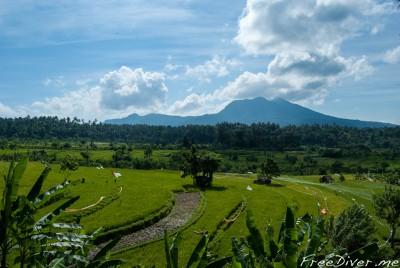Самый большой вулкан о.Бали - Агунг