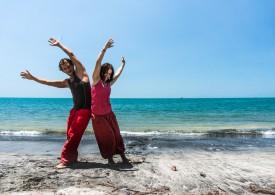 Фестиваль контактной импровизации и танца в воде в Таиланде